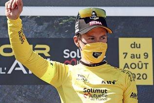 Roglic maillot jaune à la veille de la fin du Dauphiné