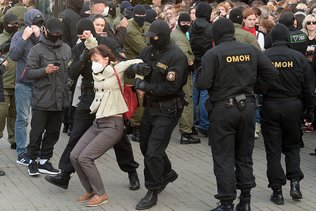 Dizaines de milliers de manifestants à Minsk