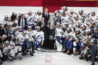 Une deuxième Coupe Stanley pour le Lightning