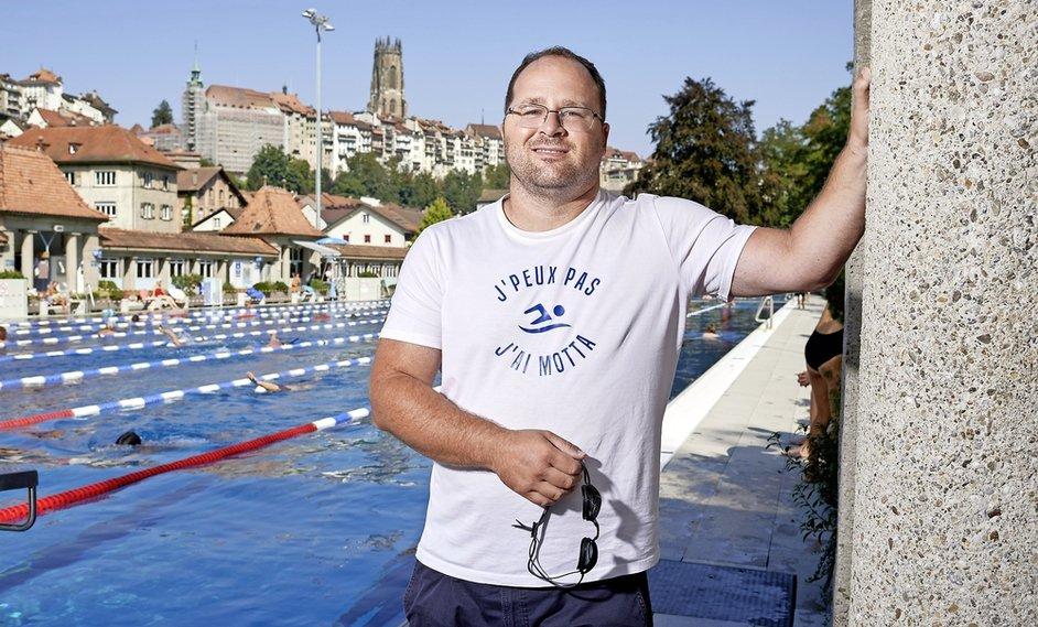 «La natation m'a sauvé la vie»
