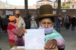 Arce, le dauphin d'Evo Morales, remporte la présidentielle en Bolivie