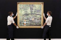 Tableau de Banksy parodiant Monet vendu plus de 7 millions