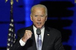 Victorieux de Trump, Joe Biden se tourne vers la transition