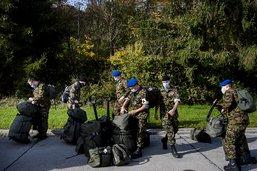 Les soldats sanitaires entrent en service à Moudon