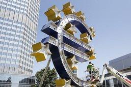 """Une économie """"durablement affaiblie"""" par le Covid-19, selon la BCE"""