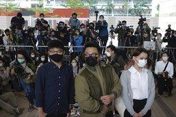Hong Kong: Joshua Wong placé en détention provisoire