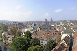 Erfurt ou la surprise médiévale