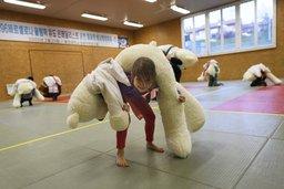 Les judokas sont des nounours