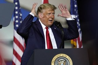 """Trump vante son débat face à """"Joe l'endormi"""""""