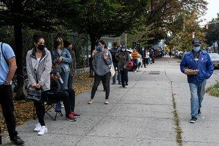 Les New-Yorkais se pressent pour voter