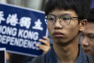 """Le jeune militant hongkongais Tony Chung accusé de """"sécession"""""""