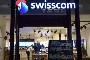 Swisscom affiche une performance en léger repli après neuf mois