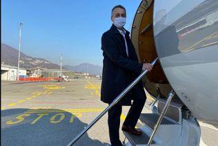 Ignazio Cassis s'envole pour le Proche-Orient