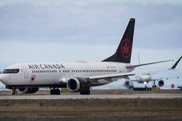Boeing 737 MAX d'Air Canada dérouté après un problème de réacteur