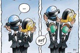 Ils se séparent:  les Daft Punk peuvent enfin tomber le casque