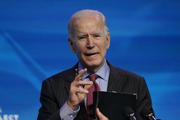 Joe Biden dévoile son plan de relance de 1900 milliards de dollars