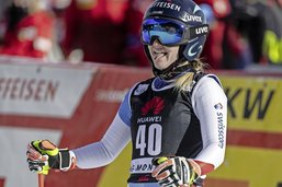 Noémie Kolly marque de nouveaux points en Coupe du monde