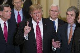 Trump vs McConnell: chez les républicains, la guerre est déclarée