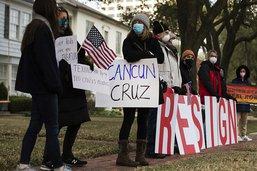 Le Texas paralysé par le froid? Son sénateur Ted Cruz file à Cancun