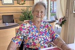 Madeleine, cent ans et le cœur jeune