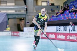 Nadia Cattaneo, l'unihockey sur le tard