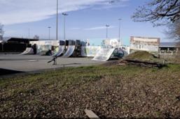 Nouveau skatepark en travaux à Bulle