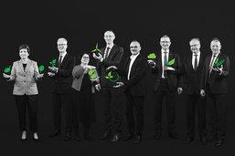 La photo officielle du Conseil d'Etat fribourgeois