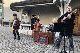 Des artistes investissent l'espace public à Bulle