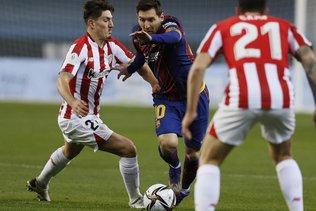 Deux matches de suspension pour Messi