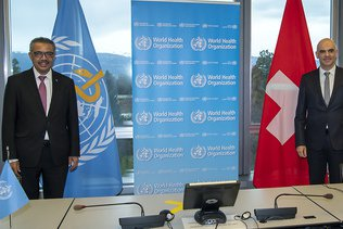 Alain Berset estime que la stratégie de la Suisse est la bonne