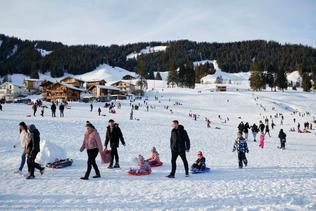 Stations de ski fribourgeoises prises d'assaut