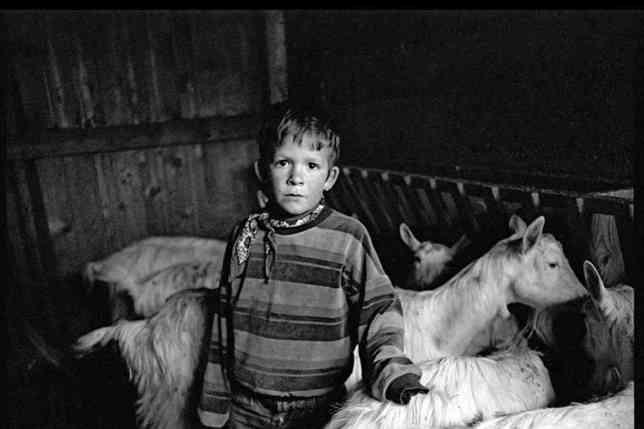Le photographe fribourgeois s'intéresse depuis vingt ans aux paysans de montagne. © Romano Riedo