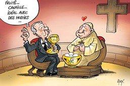 Guy Parmelin fait excellente impression au Vatican