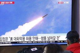 """La Corée du Nord annonce un nouveau """"projectile tactique guidé"""""""