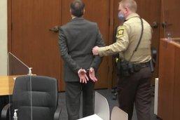 Le policier coupable du meurtre de Floyd connaîtra sa peine en juin