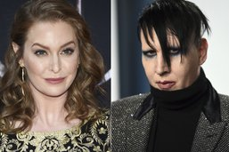 Une actrice porte plainte contre Marilyn Manson pour viol