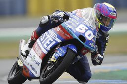 Jason Dupasquier 14e sur la grille au Mans