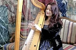 Sept harpes, un disque