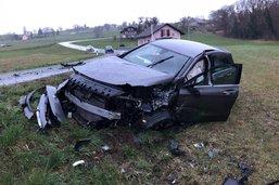 Deux blessés lors d'un accident frontal à Montagny-la-Ville, appel à témoins