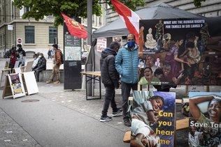Journée commémorative tamoule à Fribourg