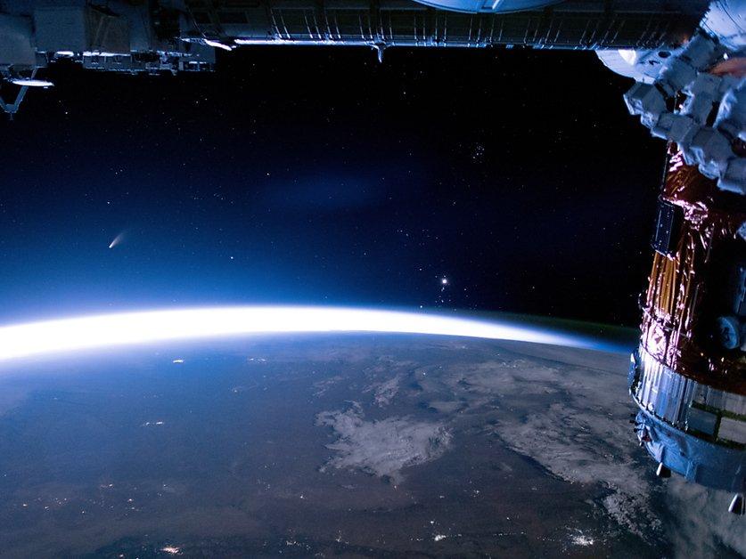Une équipe russe dans l'espace pour y tourner le premier film