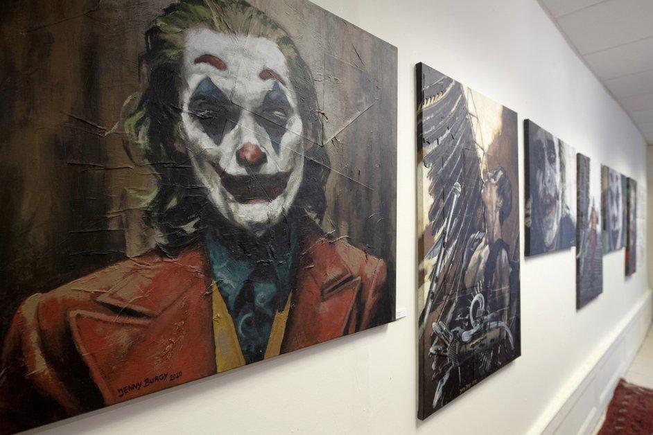 Première exposition pour Jenny Burgy