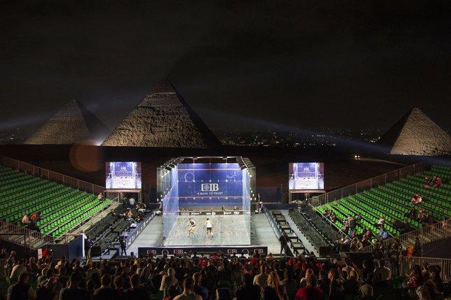 Pourquoi l'Egypte domine le squash?