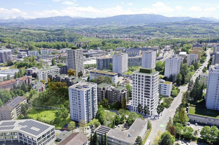 Fribourg continue de se densifier