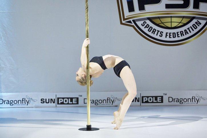 La guerrière du Pole Sport