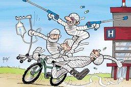 Accidents de vélo en hausse