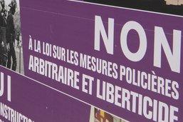 Des collectifs romands et fribourgeois s'opposent à la loi contre le terrorisme