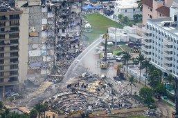 Effondrement d'un immeuble en Floride: le bilan passe à 5 morts