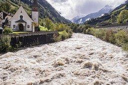 Eboulements et glissements de terrain sur les routes suisses
