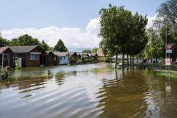 La crue du Lac de Neuchâtel ralentit